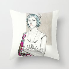 Strange Lives Throw Pillow