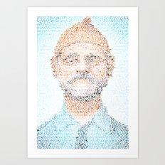 The Aquatic Steve Zissou Art Print