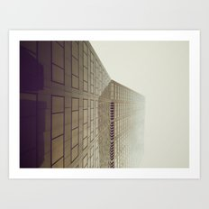 Sidescraper Art Print