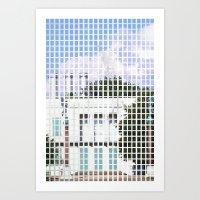 windows- vacancy zine Art Print