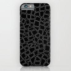 British Mosaic White and Black iPhone 6s Slim Case