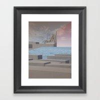 Atmosphere 29 · Eternit… Framed Art Print