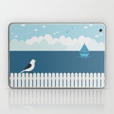 Sitting on the Fence Laptop & iPad Skin