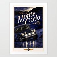 Motor Style Inc.: Rallye… Art Print