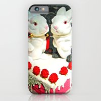 iPhone & iPod Case featuring Rabbies by Hiver & Leigh