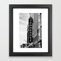 Tennessee Theater - Knox… Framed Art Print