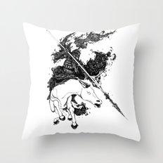 War Throw Pillow