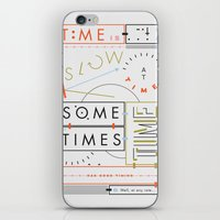 Haikuglyphics - Thyme iPhone & iPod Skin