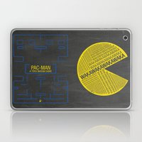 Pac-Man Typography Laptop & iPad Skin