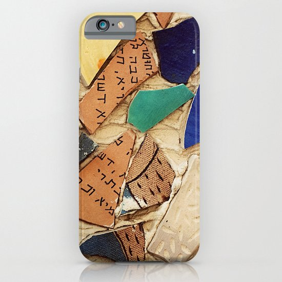 Neve Zedek Mosaic Wall iPhone & iPod Case