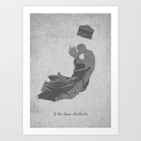 J Is For Jeux D'enfants Art Print