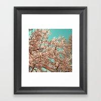 spring tree XVIII Framed Art Print