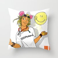 Summer Of Love '89 Throw Pillow