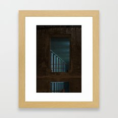 Architecture de nuit #1 Framed Art Print
