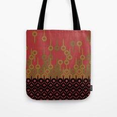 Pattern 1, Red Tote Bag