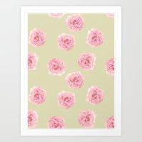 Perennial Pattern Art Print