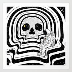 Blackout (Departure) Art Print