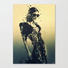 Beauty Echoes Canvas Print