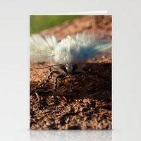 Snowy Moth Stationery Cards