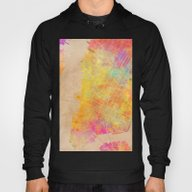 New York City Map Colore… Hoody