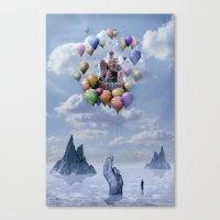 Sweet Castle Canvas Print