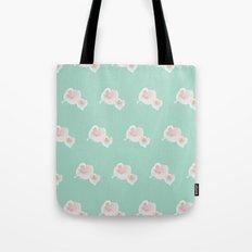 Dope Floral Teal Tote Bag