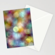 Bokeh Party Stationery Cards