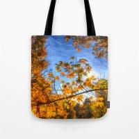 Autumns Arrival Art Tote Bag
