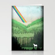 Lost Unicorn Stationery Cards