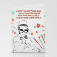 Your Song Stationery Cards