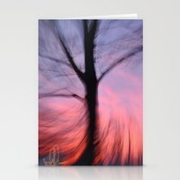 Fire Sky 2 Stationery Cards