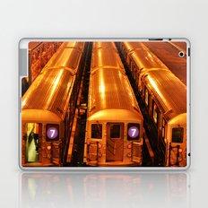New York Queens Subway 7 Train Yard Laptop & iPad Skin