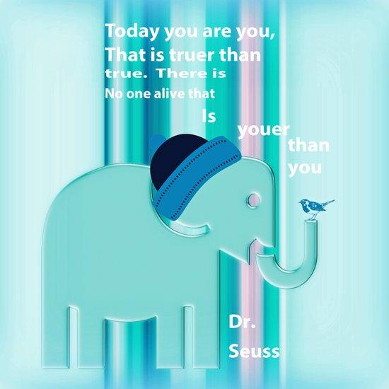 Dr. Seuss Quote Art Print