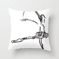 Bailarina Crayola Throw Pillow