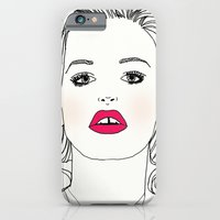 iPhone & iPod Case featuring Mademoiselle by Mamoizelle