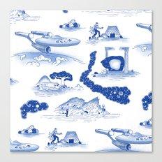 Pop Porcelain- Final Frontier  Canvas Print