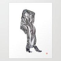 Komakai No.1 Art Print