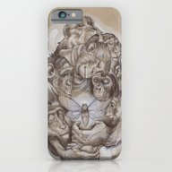 iPhone & iPod Case featuring Protecting The Delicate … by Busymockingbird