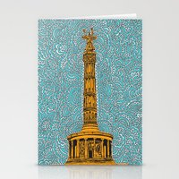Siegessäule Drawing Me… Stationery Cards