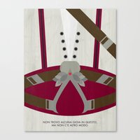 Video Game Poster: Assassin Canvas Print