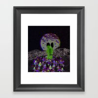 Invisible Forests Framed Art Print