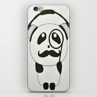 Professor Panda iPhone & iPod Skin