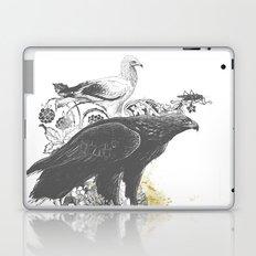 the watchers 3 B+W Laptop & iPad Skin