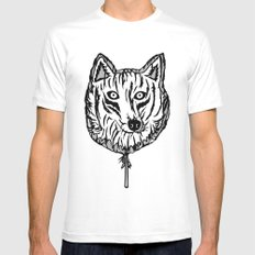 Lobollipop Mens Fitted Tee SMALL White