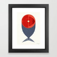 Tuna Framed Art Print