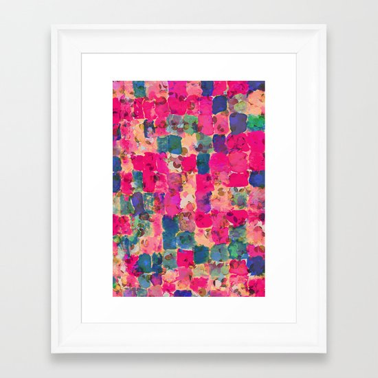 Mix01 Framed Art Print