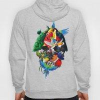 Avian skull Hoody