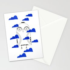 Blue Clouds Stationery Cards