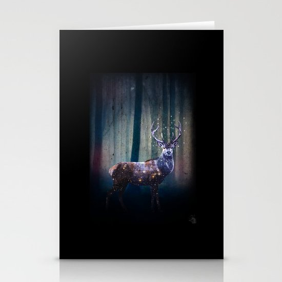 Deep In The Woods Stationery Card