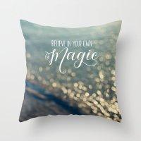 Magic #2 Throw Pillow
